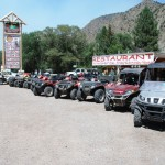 UTVs Lined Up At Hoover's