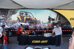 UTV Jamboree - Can-Am Booth